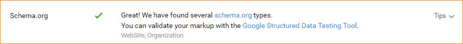 kiểm tra Schema chuẩn cho website bằng SeoQuake