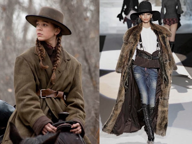 Into The Fashion Inspiration True Grit 2010 Etro And Dsquared Fw 2011 12