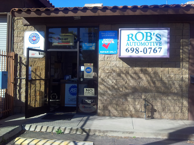 Auto Repair La Mesa | Rob's Automotive at 7589 El Cajon Blvd, E, La Mesa, CA