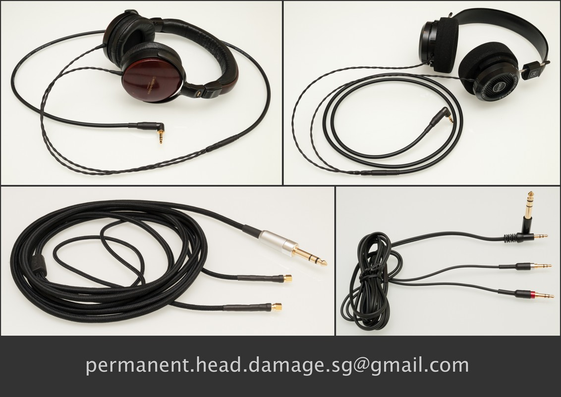 WTS: Headphone removable/replacement/custom cable mods (by ...
