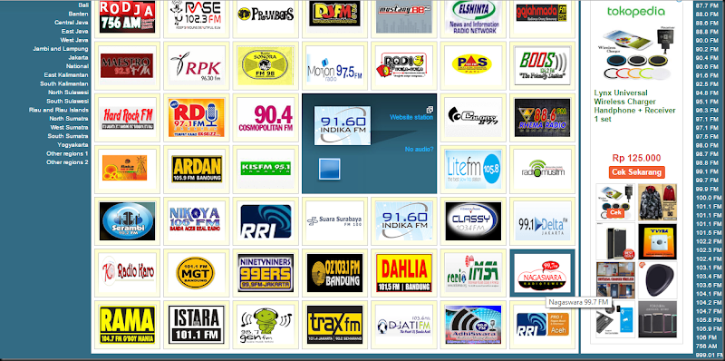 rado online seluruh indonesia
