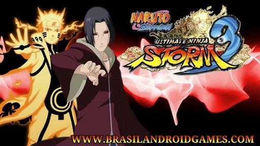 Naruto Shippuden Ultimate Ninja Heroes 3 Imagem do Jogo