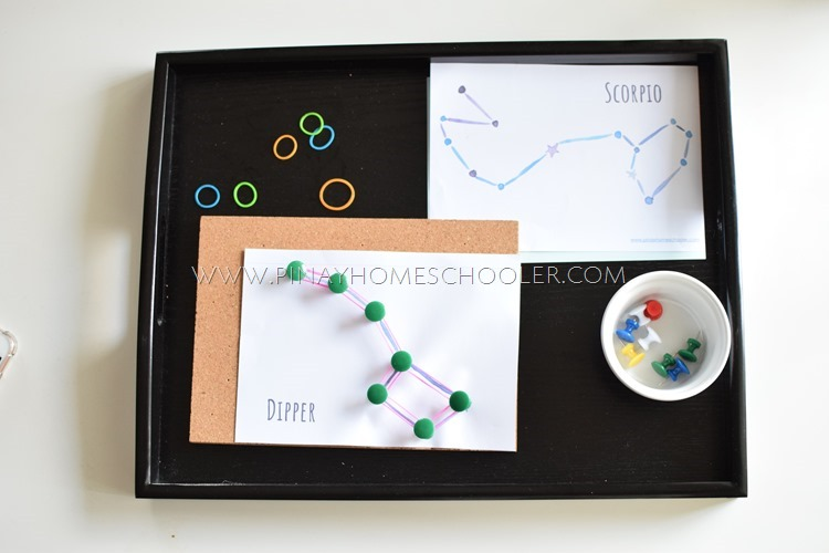 Pin Poking Star Constellations Activity