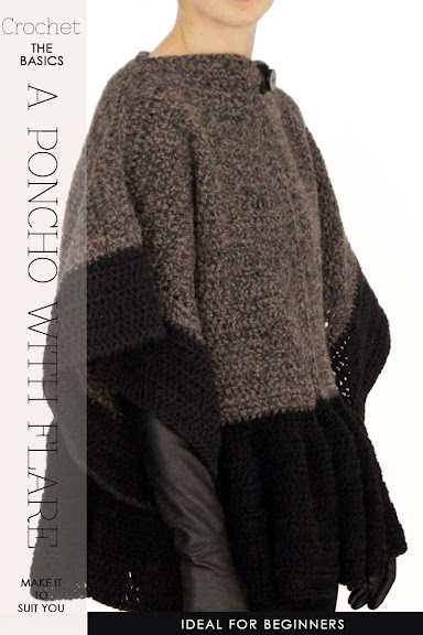 Free Crochet Pattern Mens Poncho : DiaryofaCreativeFanatic