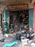 Smedjan i Hanoi.