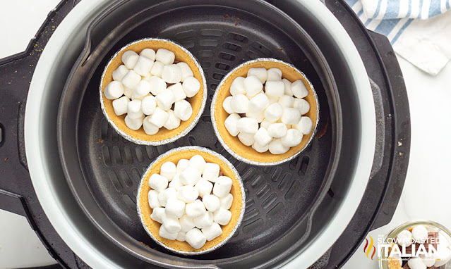 smores pie in the air fryer