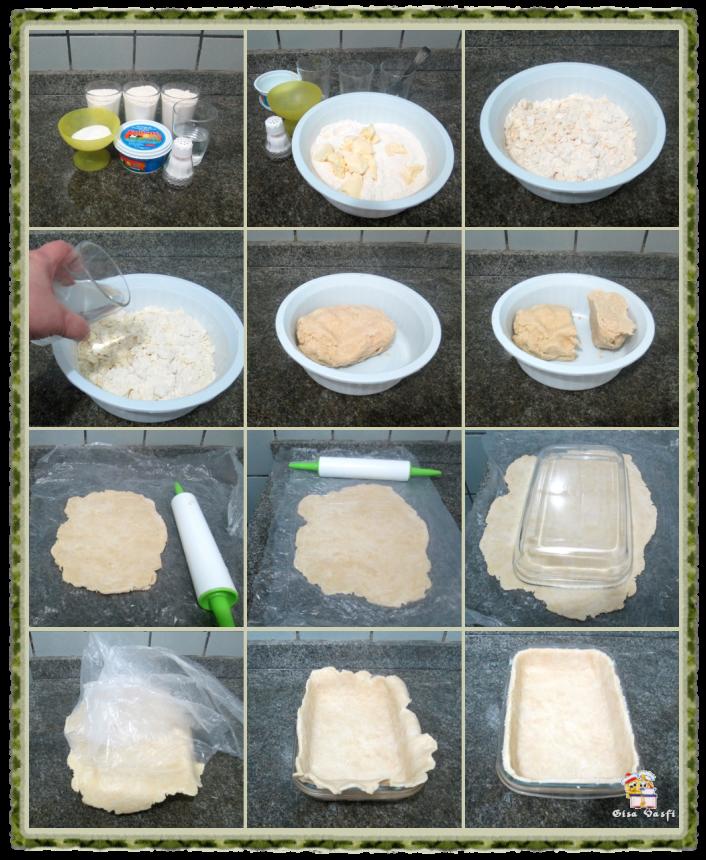 Torta de pêssegos do seriado 5