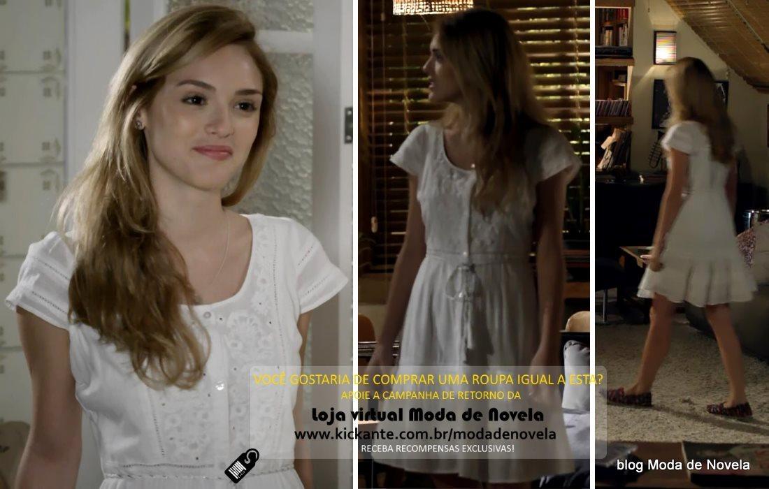 moda da novela Sete Vidas, look da Julia dia 10 de março de 2015