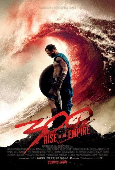 Poster Of English Movie 300: Rise of an Empire (2014) Free Download Full New Hollywood Movie Watch Online At Alldownloads4u.Com