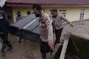 Ciptakan Kondisi Kamtibmas Pasca Banjir Bandang, Personil Polres Luwu BKO Masamba Gelar Sambang Dialogis