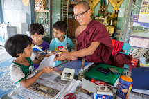 In Myanmar, Buddhist  monasteries have a long tradition in offering shelter and protection to the most vulnerable people. Hundreds of thousands of children do not have access to government schools because of poverty, long distances internal conflicts and