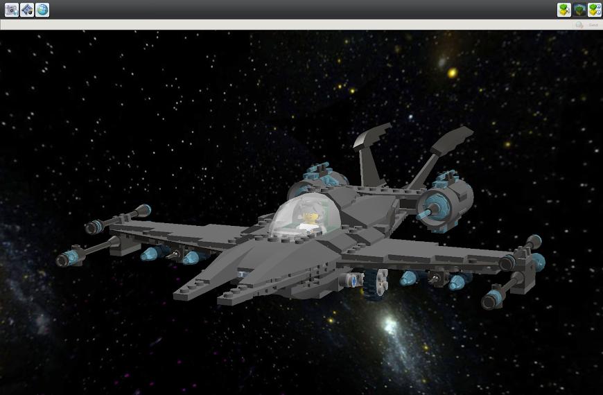 Star Scout B Class Star Fighter LDDScreenShot1713