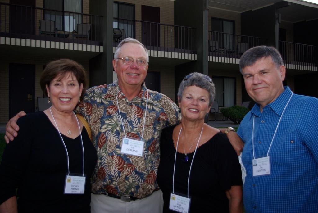 Barbara Horton, Jim and Judy Demand, Jim Horton