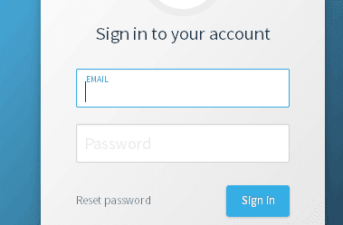 DreamHost login