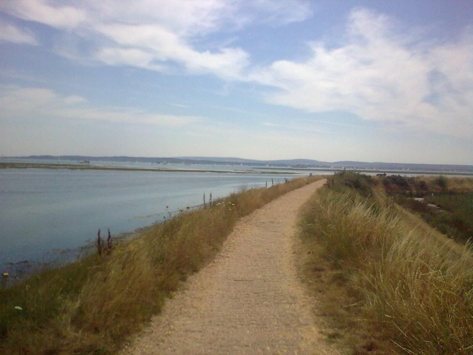 Image0311 coastla path past salt marshes