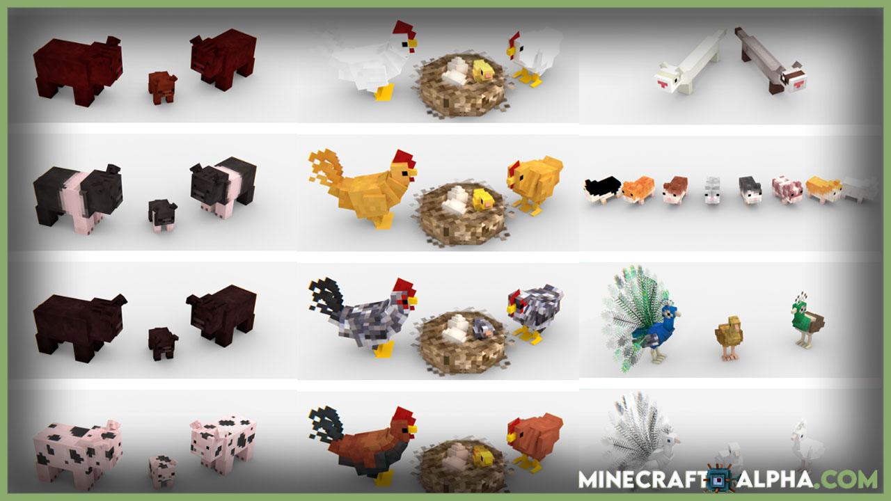 Minecraft Animania Mod