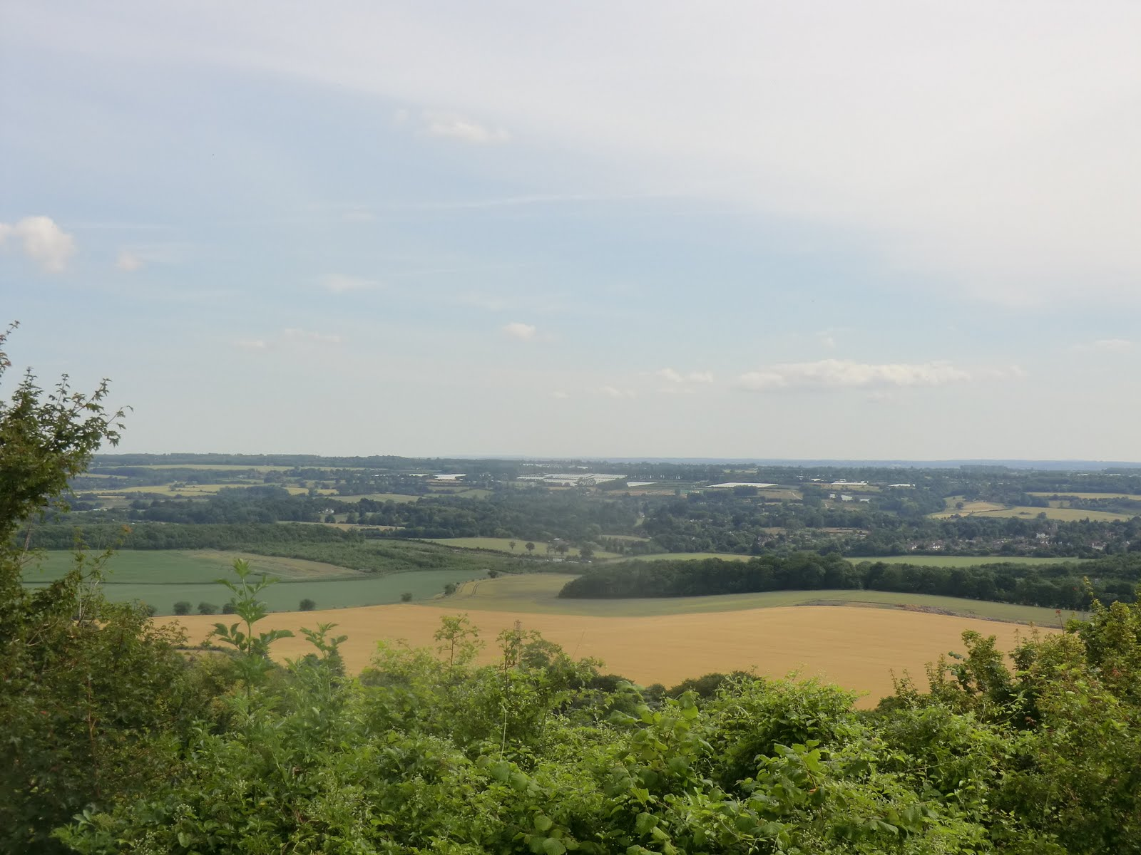 CIMG2400 View from Thurnham Castle