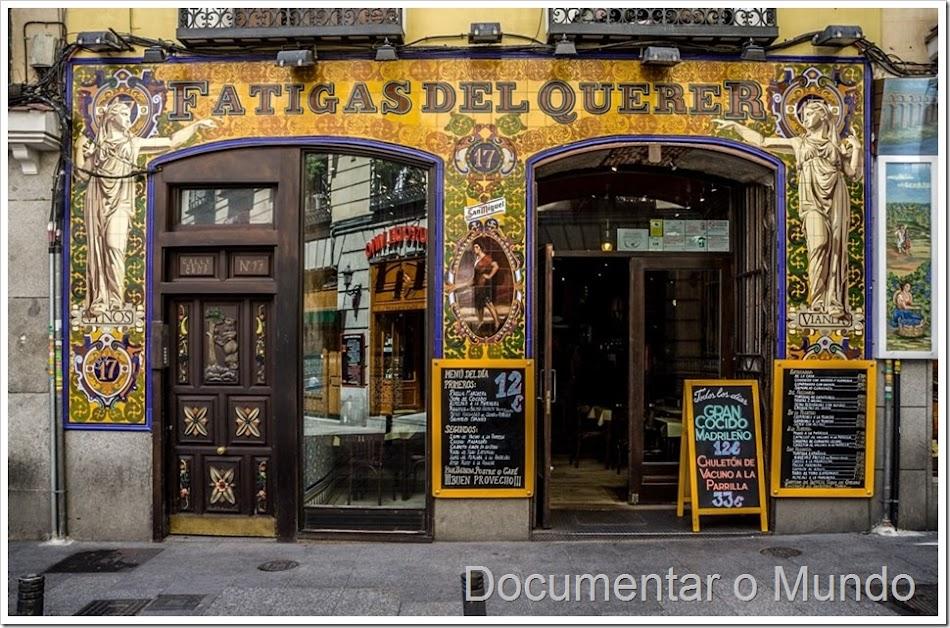 Lojas históricas de Madrid, lojas antigas de Madrid