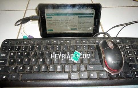 Tablet Android dapat sangat membantu sekali ketika kita sedang mengalami kesulitan 5 Cara Memasang Keyboard dan Mouse PC Di Android