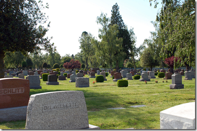 Generic photograph of a cemetery by Peyri Herrera