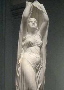Undine Rising from the Waters, by Chauncey Bradley Ives ca. 1880–92.