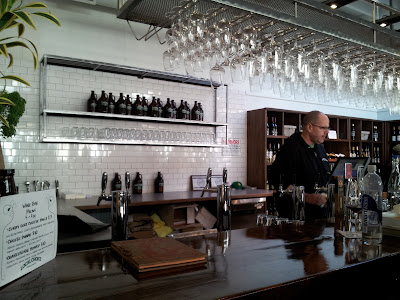 beer and wine bar at Local Choice Market