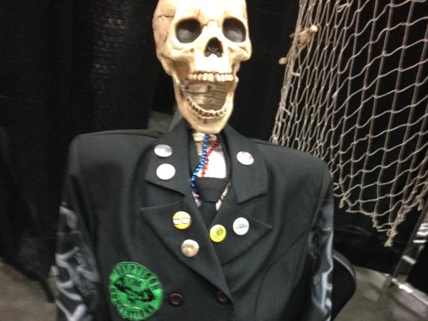 skullface astronaut joe sherlock living dead con portland horror con