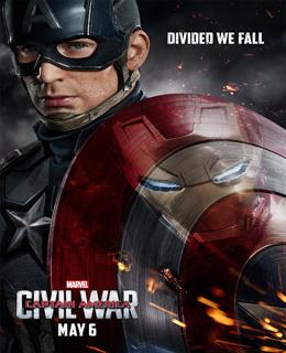 Capitão América – Guerra Civil Torrent (2016) HDRip 720p e 1080p Dual Áudio