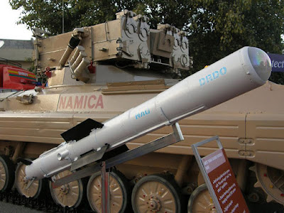 Nag Missile Anti-Tank guided missile : major boost for Indian Defence Sector