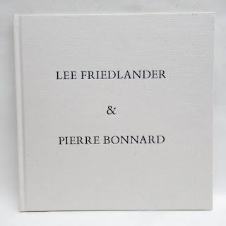 Lee Friedlander & Pierre Bonnard Book