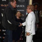 OIC - ENTSIMAGES.COM - David Hasselhoff and Angela Rippon attends  McQueen - press night at Theatre Royal Haymarket on the 27th August 2015. Photo Mobis Photos/OIC 0203 174 1069