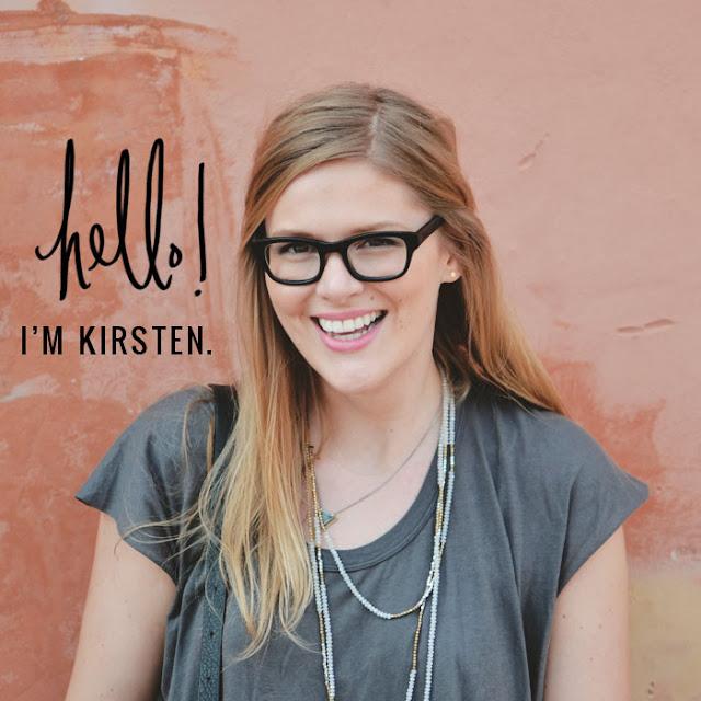 Hello, I'm Kirsten!