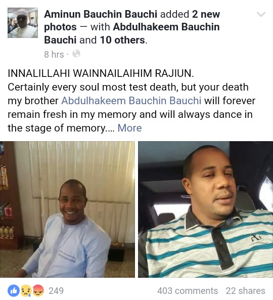 Police Arrest Syndicate Behind Murder Of Bauchi State Blogger