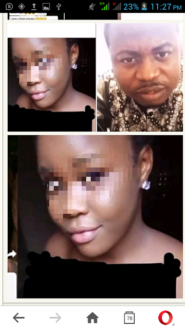 KBKfoundation Exposes Face Of Lady Who Sent Him Nude Pictures