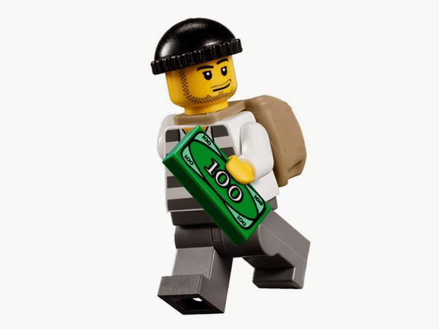 7279 レゴ ポリス4WDバギー