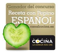 RECETA CON PEPINO ESPAÑOL