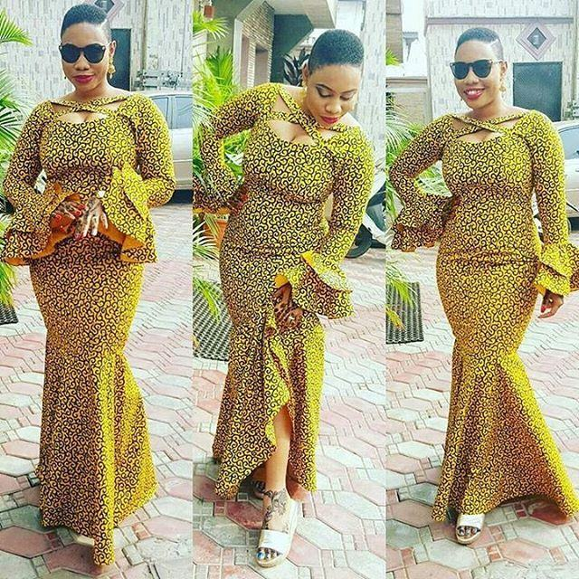 African Long Gown Styles 2018 Must See - Styles 7