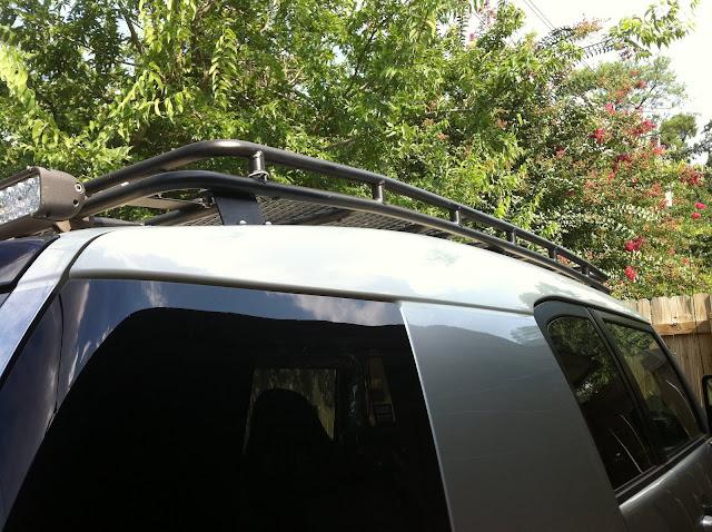 Fs Gobi Stealth Roof Rack Light S And Awning Houston