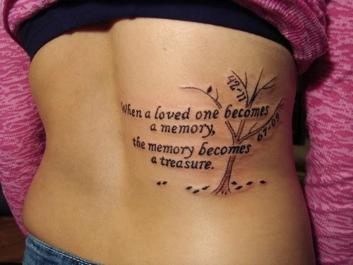 Girl quote tattoos and sayings