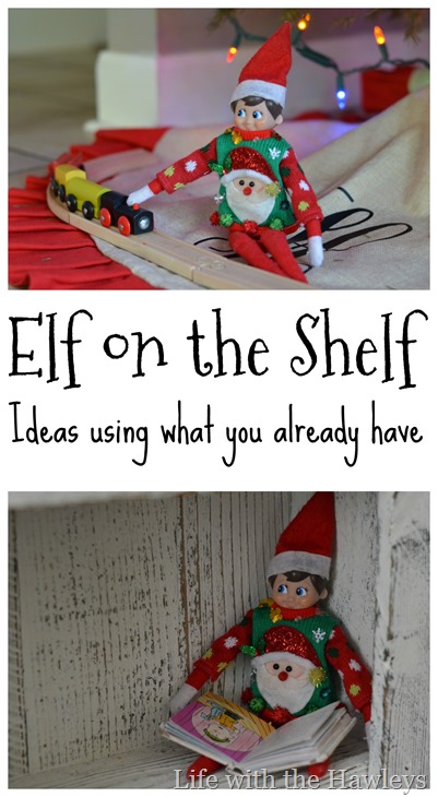 Elf on the Shelf Ideas 2017- Life with the Hawleys