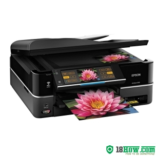 How to Reset Epson Artisan 810 flashing lights problem