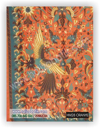Jenis Jenis Batik, Toko Batik, Contoh Gambar Batik, HM28 ORANYE