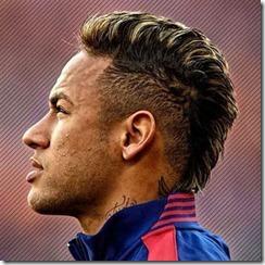 Neymar Burst Fade Mohawk