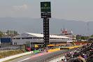 Main straight Catalunya circuit