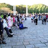SID fans in Shibuya, Tokyo, Japan