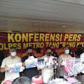 Demo Rusuh di Kota Tangerang, Polisi Amankan Enam Tersangka