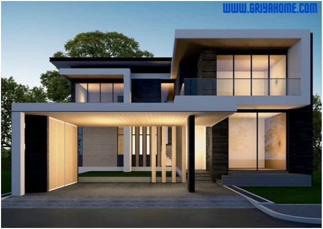 Desain Rumah Modern Minimalis Modern dan Fungsional
