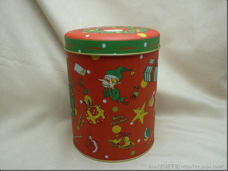 米樂繽紛爆米花-聖誕彩繪罐