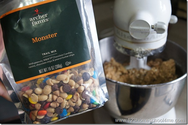 add in monster mix from target to save time