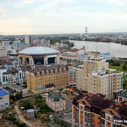A birds-eye view of Kazan